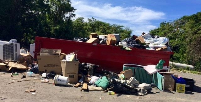 Waste drop-off sites face ongoing challenges with illegal dumping in the U.S. Virgin Islands